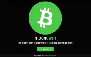 Moon bitcoincash